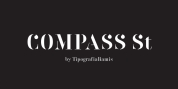 Compass St font download
