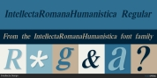 IntellectaRomanaHumanistica font download
