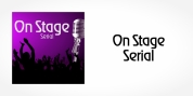 OnStage Serial font download