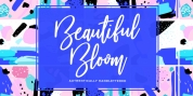 Beautiful Bloom font download