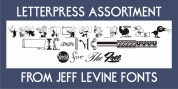 Letterpress Assortment JNL font download