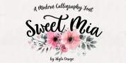 Sweet Mia font download