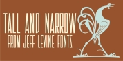 Tall And Narrow JNL font download