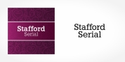 Stafford Serial font download