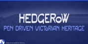 Hedgerow font download