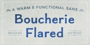Boucherie Flared font download