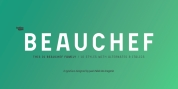Beauchef font download