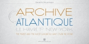 Archive Atlantique font download