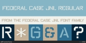 Federal Case JNL font download