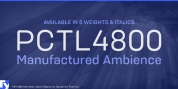 PCTL4800 font download