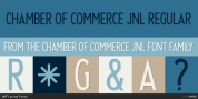 Chamber of Commerce JNL font download