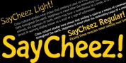 Saycheez font download