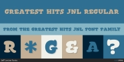 Greatest Hits JNL font download