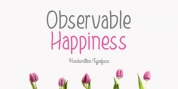 Observable Happiness font download
