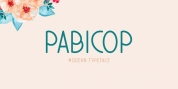 Pabicop font download