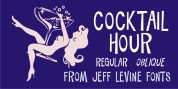 Cocktail Hour JNL font download