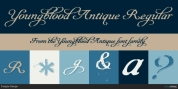 Youngblood Antique font download