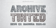 Archive Tinted font download
