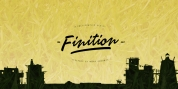 Finition font download