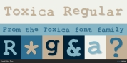 Toxica font download