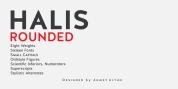 Halis Rounded font download