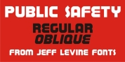 Public Safety JNL font download