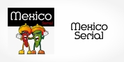 Mexico Serial font download