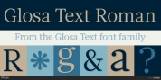 Glosa Text font download
