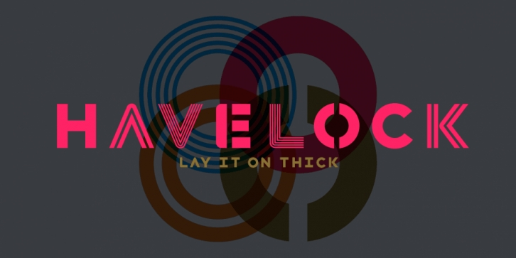 Havelock font preview
