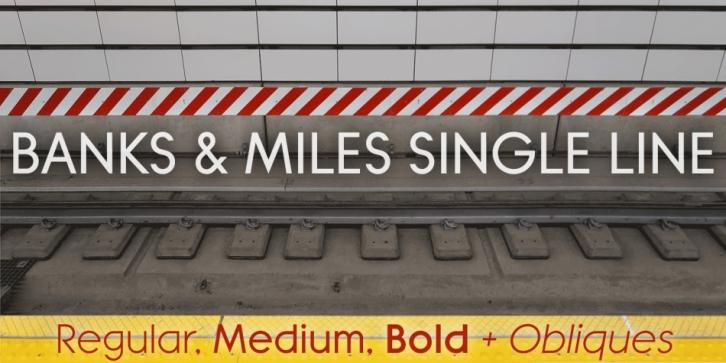 Banks Miles Font Download