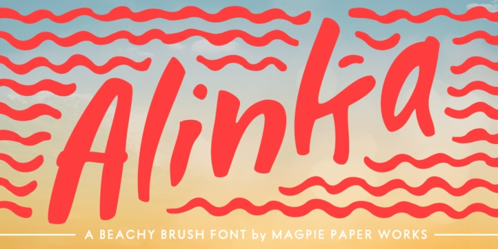 Alinka font preview