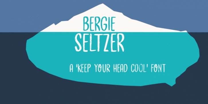 Bergie Seltzer font preview