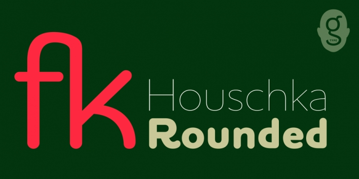 Houschka Rounded font preview