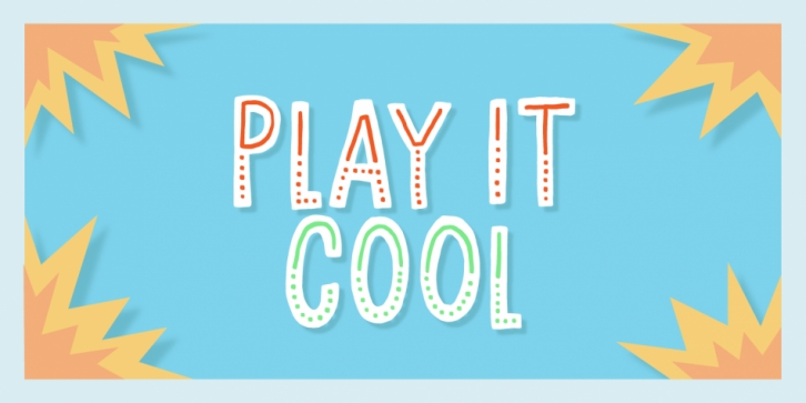 Play it cool FONT Download
