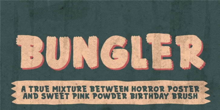 Bungler font preview