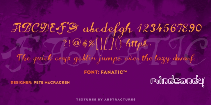 Fanatic font preview