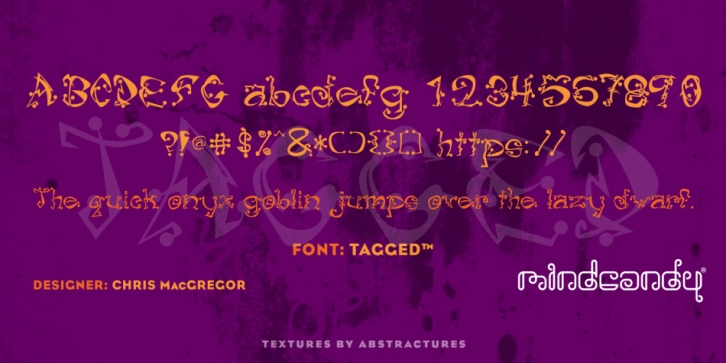 Tagged font preview