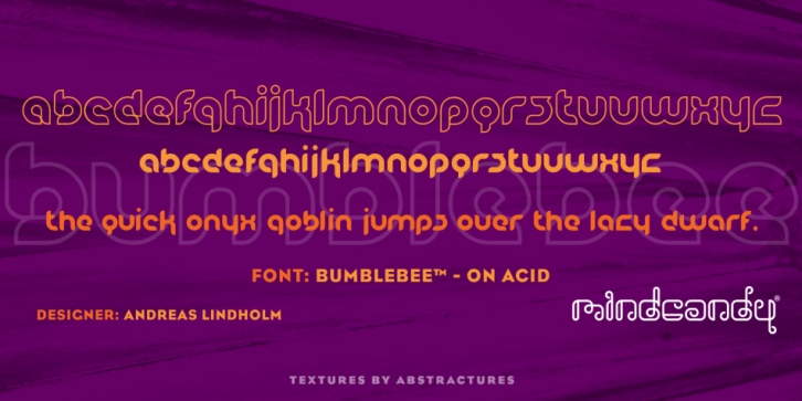 BumbleBee font preview