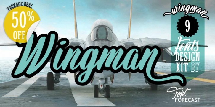 Wingman font preview