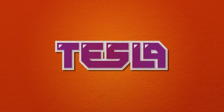 Tesla Font Download