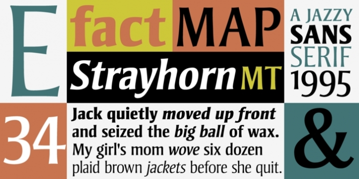 Strayhorn font preview