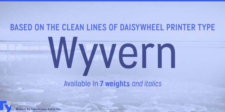 Wyvern font preview