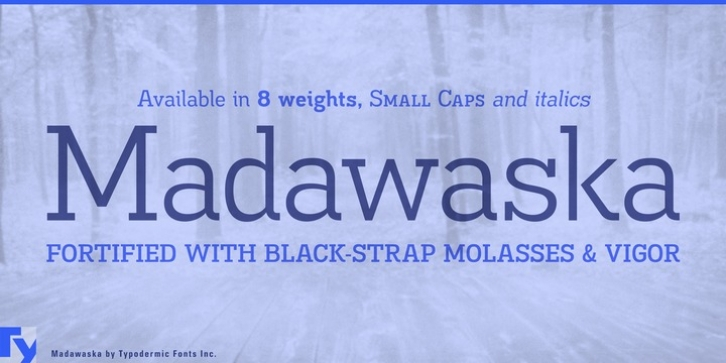 Madawaska font preview