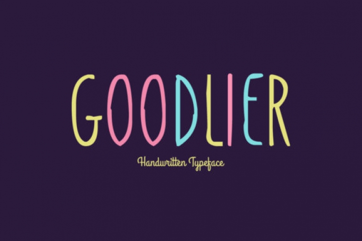 Goodlier font preview
