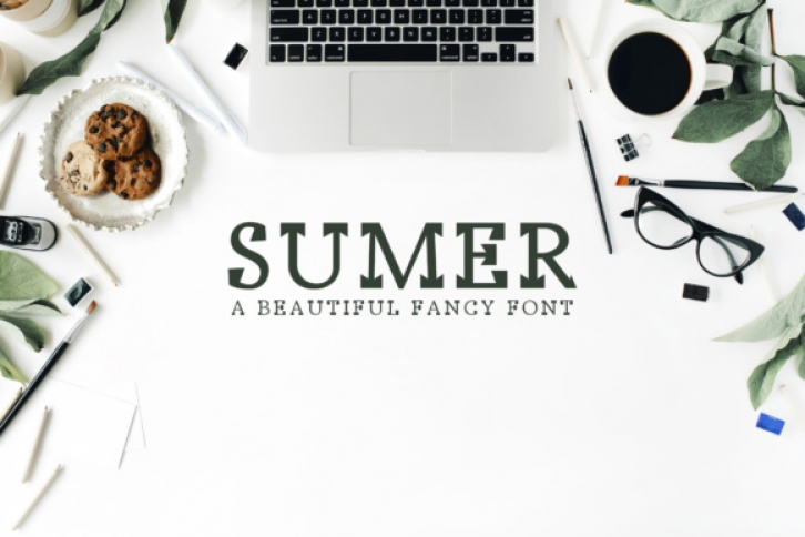 Sumer font preview