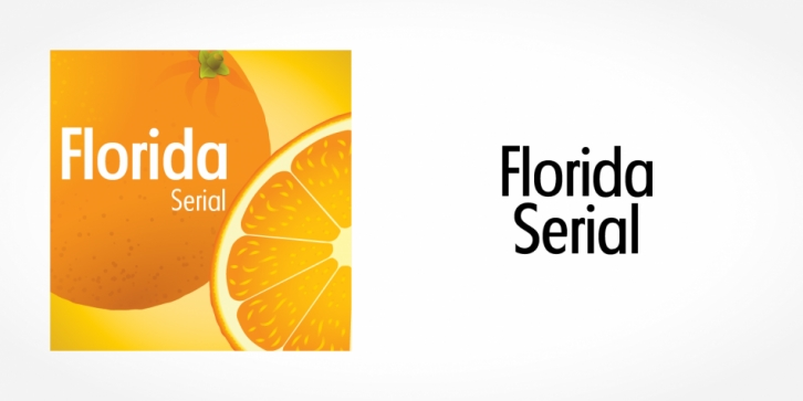 Florida Serial font preview