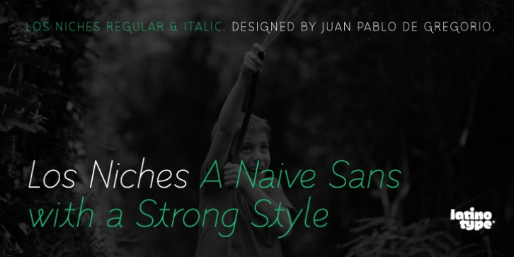 Los Niches font preview