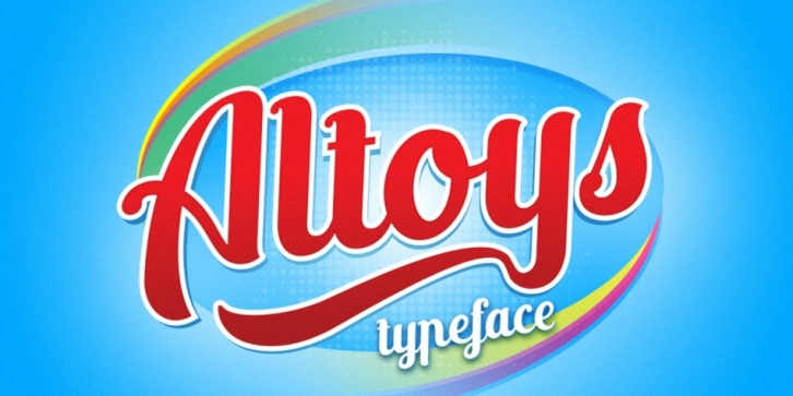 Altoys font preview