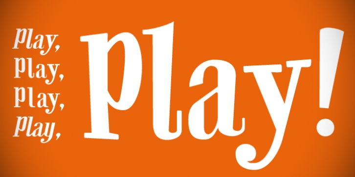 CA Play font preview