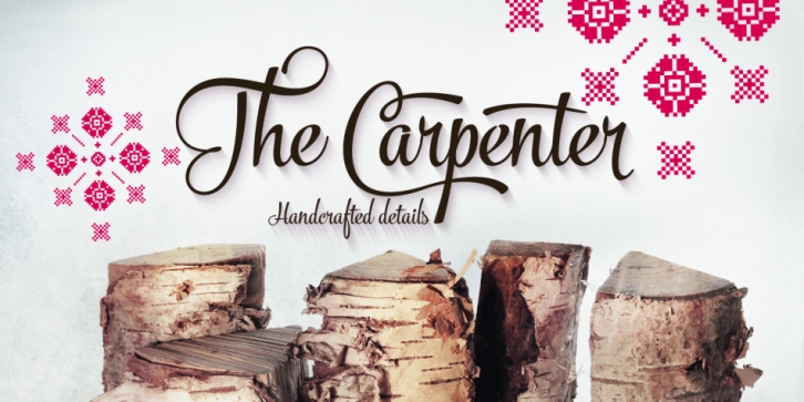 The Carpenter font preview